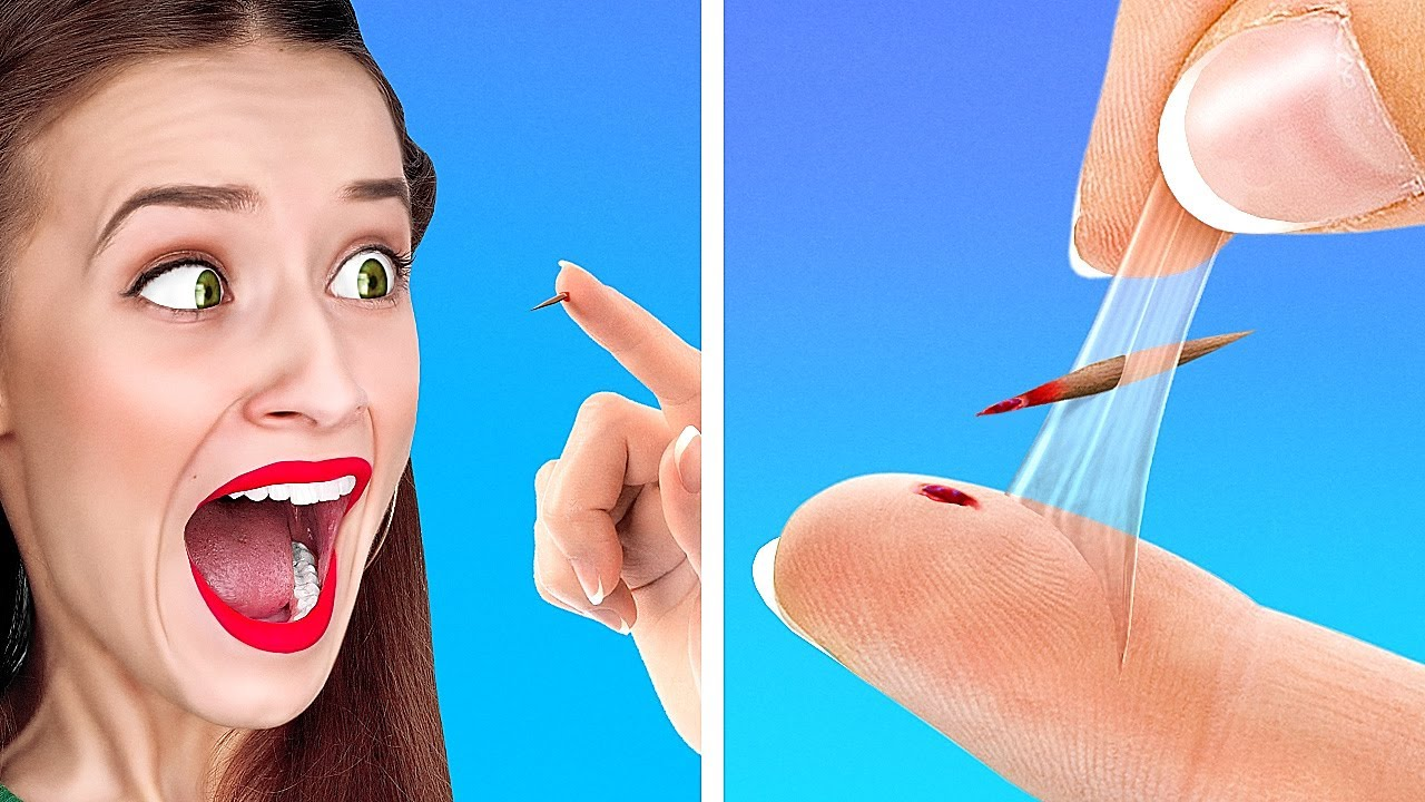 AWESOME LIFE HACKS THAT COULD SAVE YOUR LIFE!    Useful Hacks by 123 Go! GENIUS