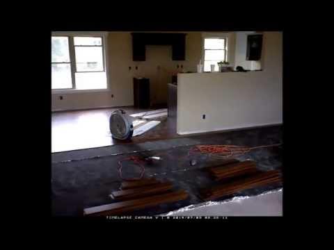 Home Construction - Hardwood Floor Install