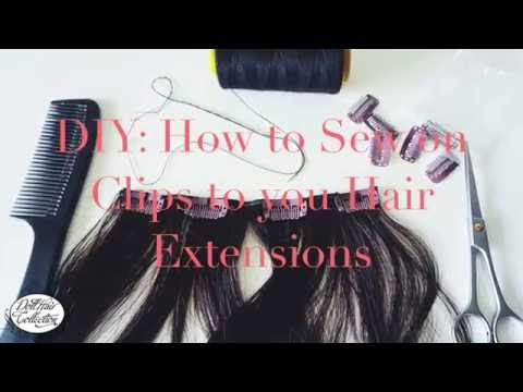 DIY: How to Make your Own Clip-in Hair Extensions