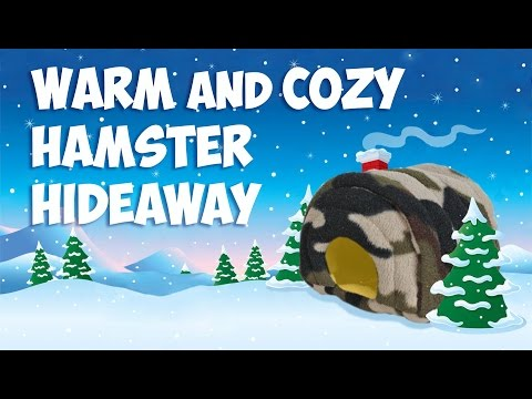 Warm and Cozy Hamster Hideaway by Hammy Time