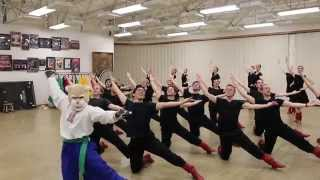 Cosmo Crashes BYU Dance Rehearsal