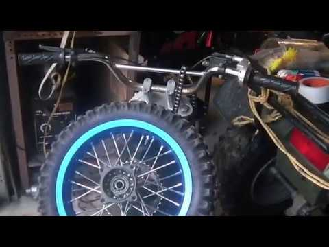 125CC SSR Pit Bike rear wheel issues, part cost adding up!