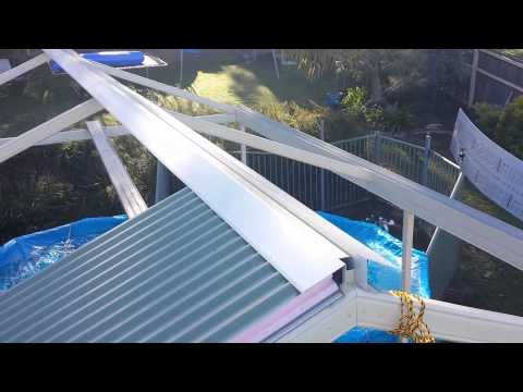 How to install a Stratco Cooldek Gable by Adaptit Group