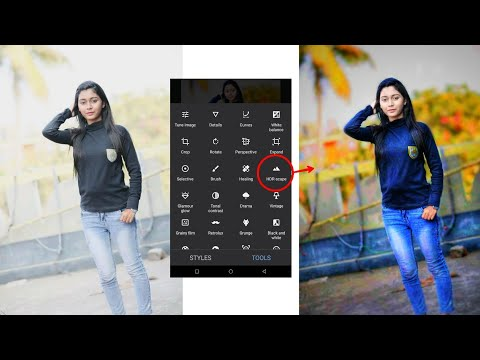Snapseed Editing || Click 1 Button || Best Color Effect Android App