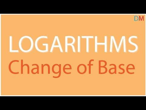 Logarithms – Change of Base