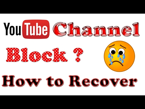 How to recover a terminated YouTube account || Find suspended youtube channel URL