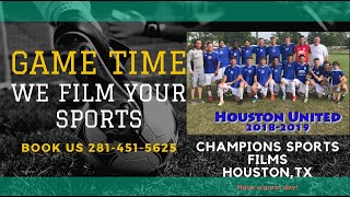 Houston United Vs ASC Game May 19 2019 Houston Sports Highlights Recruiting Video film Service