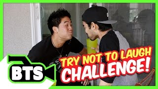 Try Not To Laugh Challenge! (BTS)