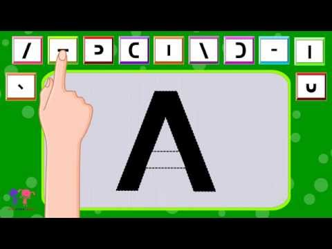 How to Learn & Write English Alphabets Easily for Preschoolers, Toddlers, Kindergarten & Kids