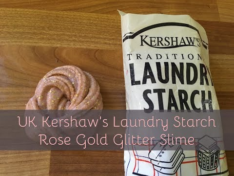 UK Laundry Starch Slime - Rose Gold - Kid Friendly