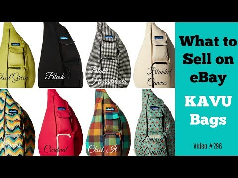 What to Sell on eBay -  Kavu Bags and Apparel