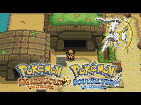 COMO CONSEGUIR A ARCEUS DE EVENTO EN POKEMON HEART GOLD Y SOUL SILVER | Cheats/Trucos Pokémon