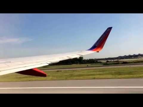 Southwest Airlines first inaugural international destination, Aruba!!!  Take off!!!