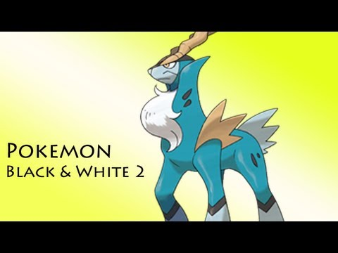 Pokemon Black & White 2: Catching Cobalion