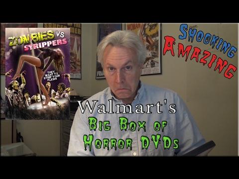 Walmarts Big Box of Horror DVD Set