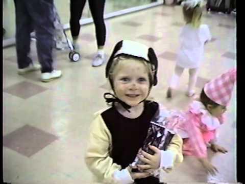 Jennifer Harmon dances as a puppy