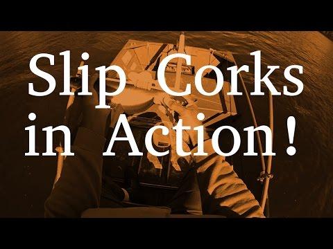 Slip Cork & Slip Bobber Action!