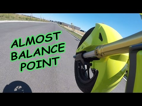 Learning to Wheelie the Grom 3