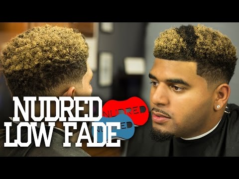 HOW TO: NuDred Low Fade w/ Blond Coloring |  Men's Haircut Tutorial | 1080p HD