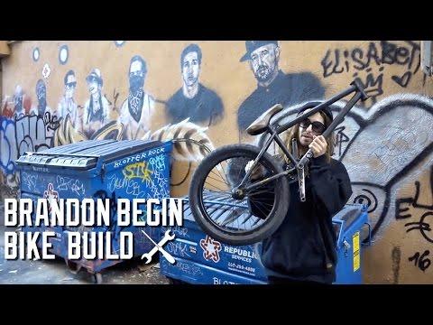 BMX BIKE BUILD BY BRANDON BEGIN