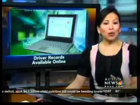 Driver records available online