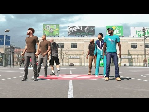 NBA 2k15 MyPARK 3vs3 Gameplay - SICKEST ALLEY OOP Yet! Bearded Bandits Back
