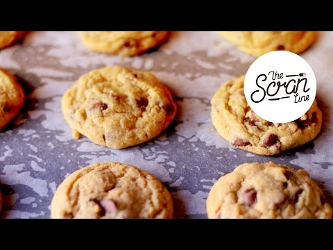 CHEWY CHOC CHIP COOKIES - The Scran Line