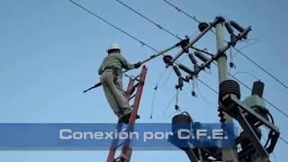 Conexión y Cierre de Cortacircuitos por parte de CFE