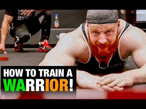 WWE Sheamus Workout (BEHIND THE SCENES!)