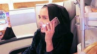 DUBAI VLOG! DAY 1 - EMIRATES LUXURY FLIGHT!