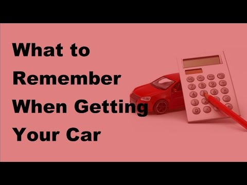 What to Remember When Getting Your Car Insured - 2017 Car Insurance Tips