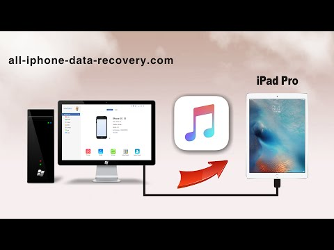 How to Transfer Music from Computer to iPad Pro without iTunes, Import Songs to iPad Pro