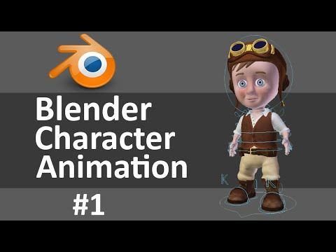 Blender Character Animation 1 of 3