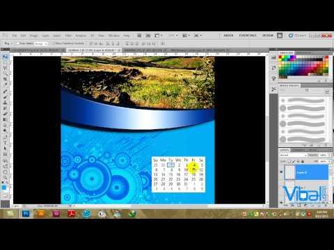 Designing a Calendar in Photoshop CS5, Amharic Tutorial by Ras Fitsum Solomon