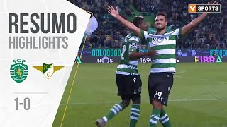 Highlights Resumo Sporting 1 0 Moreirense Liga 1920 13