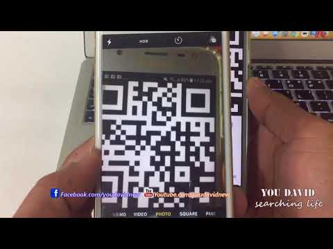 How to Camera iPhone Scan QR Code