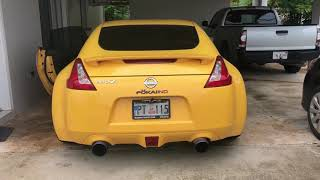 370z and Infiniti G exhaust sounds compilation