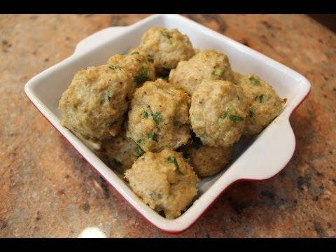 How to Make Chicken Meatballs: Classy Cookin' with Chef Stef