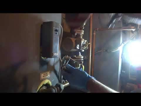 Aqua Bank not heating domestic hot water