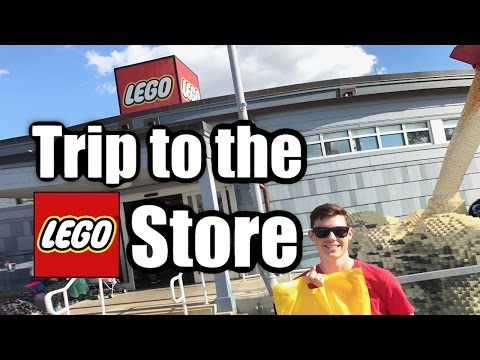 Going to the Disney Springs LEGO Store - A Crappy Vlog!