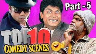 Top 10 Comedy Scenes {HD} Ft - Johnny Lever | Rajpal Yadav | Sanjay Mishra  | #IndianComedy