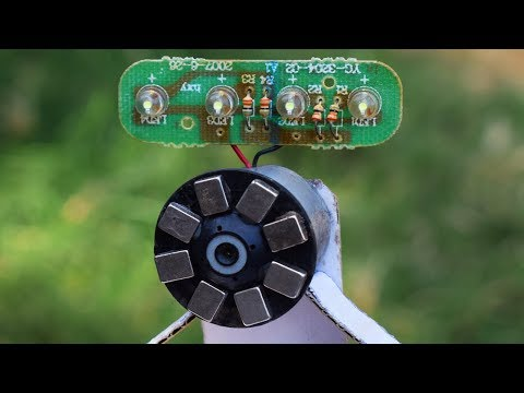 Free Energy Magnet Motor Light Bulbs