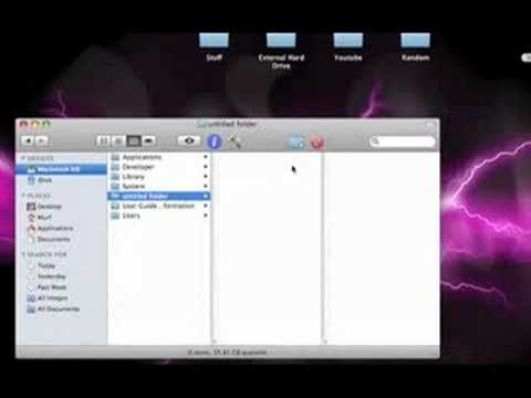 Mac Tips (Customize Toolbar)