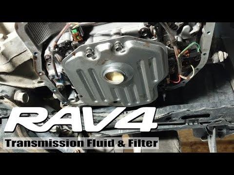 2008 Rav4: Transmission Fluid and Filter Change