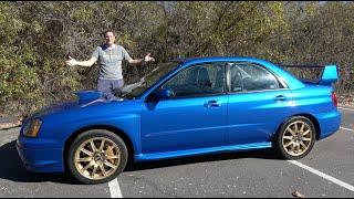 Here's Why the 2004 Subaru Impreza WRX STI Is an Icon