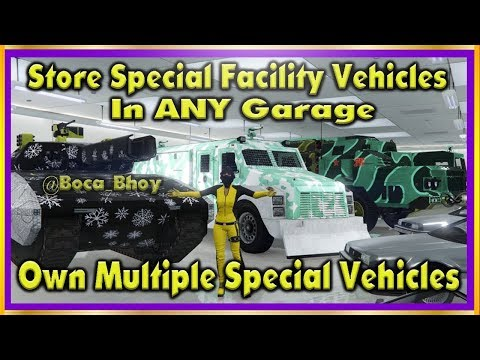 GTA 5 Online *NEW* ''STORE ANY SPECIAL VEHICLES IN ANY GARAGE'' + OWN MULTIPLE VEHICLES GLITCH 1.42¬