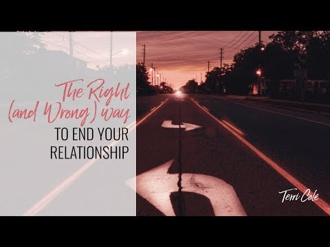 How to End Your Relationship TC RLR 2018