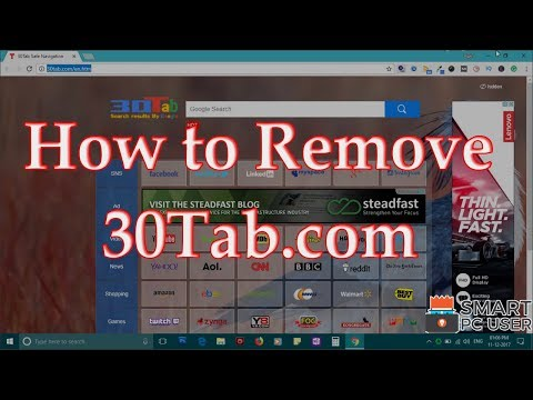 How to Remove 30Tab.com from All Browsers (Chrome, Firefox, Edge, IE)