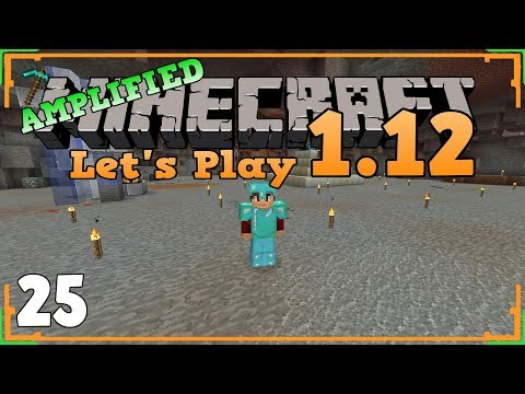 Minecraft Survival 1.12 Amplified (Let's Play) / Episode 25 / Complete Beacon of AWESOMENESS!
