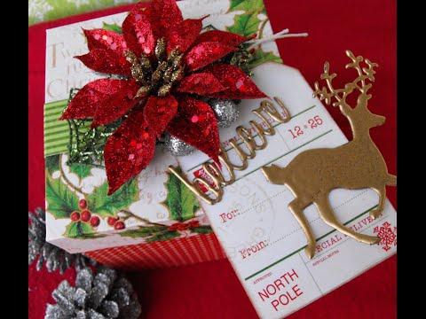 Handmade Christmas Gift Box!